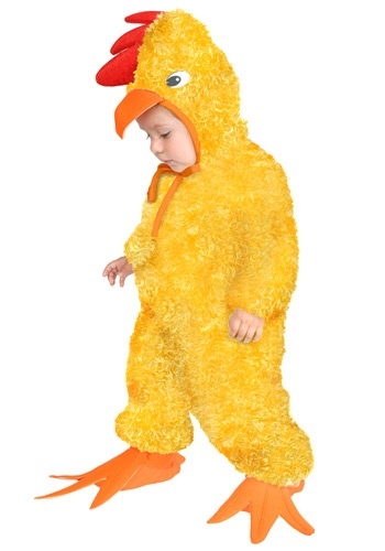 Child Yellow Rooster Costume By: Charades for the 2015 Costume season.