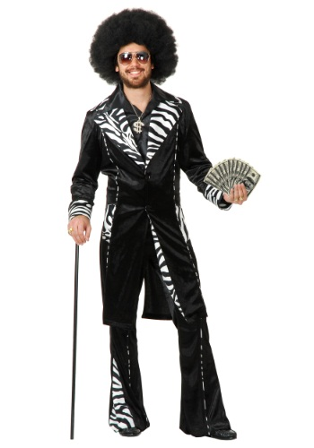 Plus Size Mac Daddy Pimp Costume