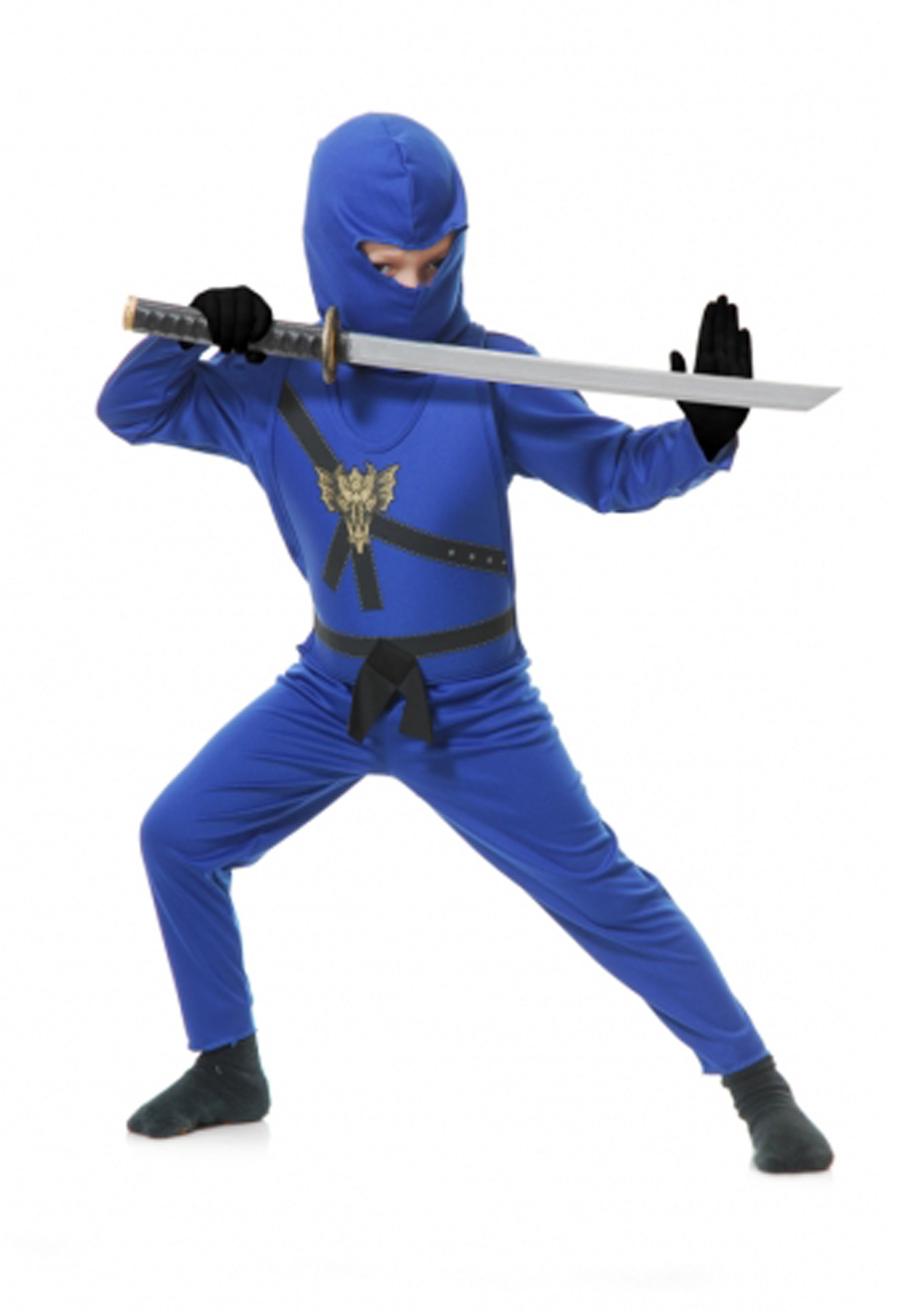 BLUE TODDLER NINJA COSTUME
