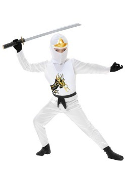 Child Ninja Avengers Series II White Costume