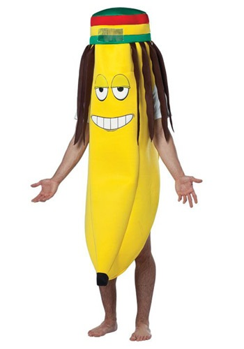 Click Here to buy Rasta Banana Costume from HalloweenCostumes, USA Funds & Shipping