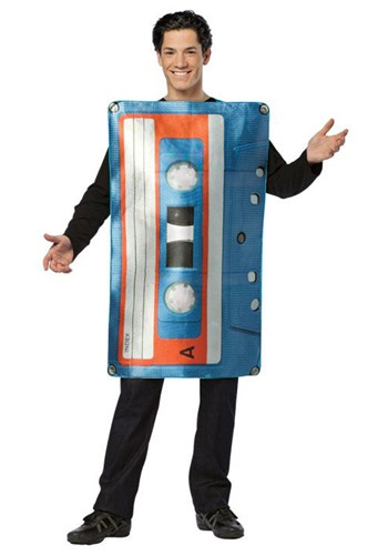 Click Here to buy Adult Cassette Tape Costume from HalloweenCostumes, CDN Funds