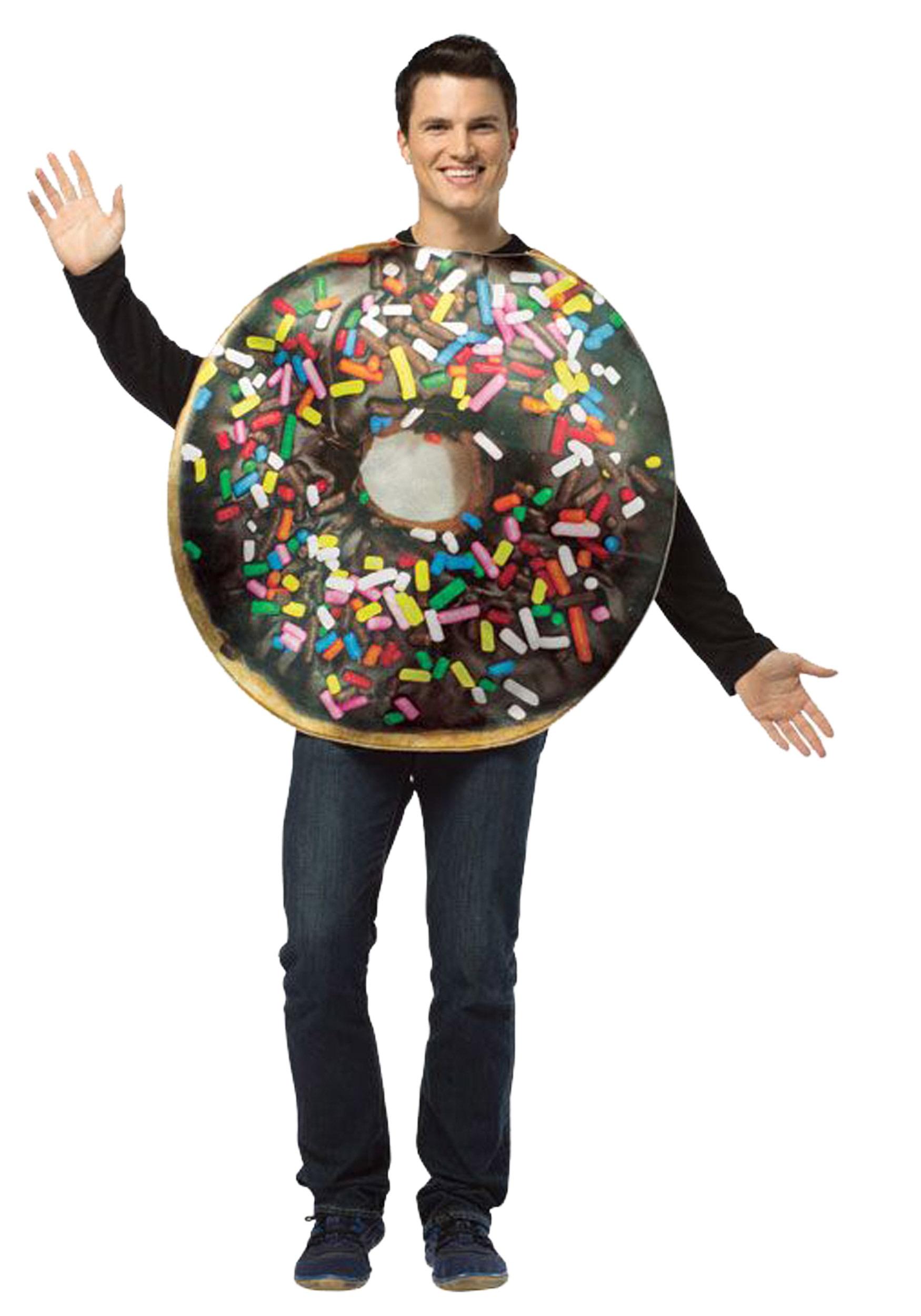 sc 1 st  Halloween Costumes & Adult Get Real Doughnut Costume