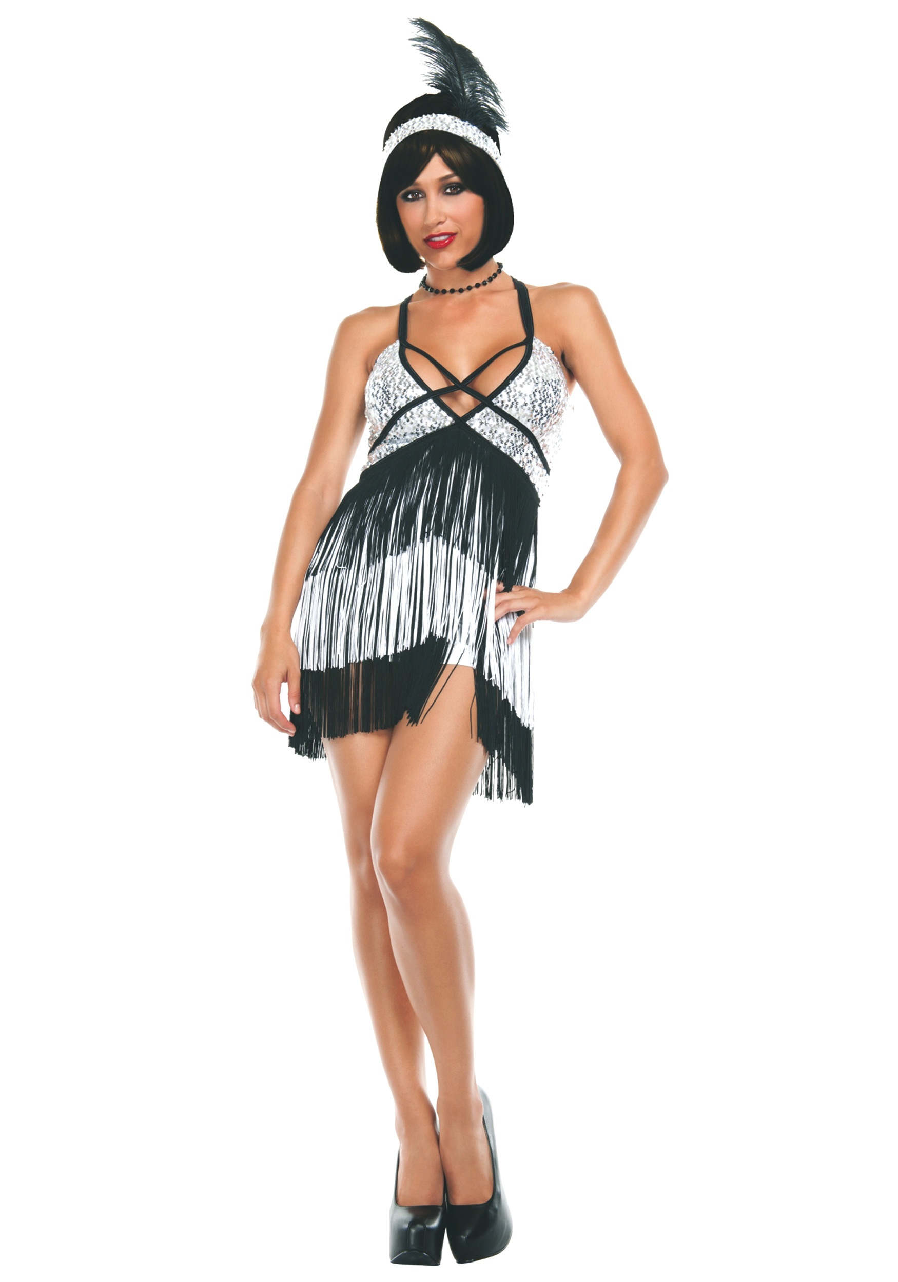 Women\'s Boardwalk Flapper Costume