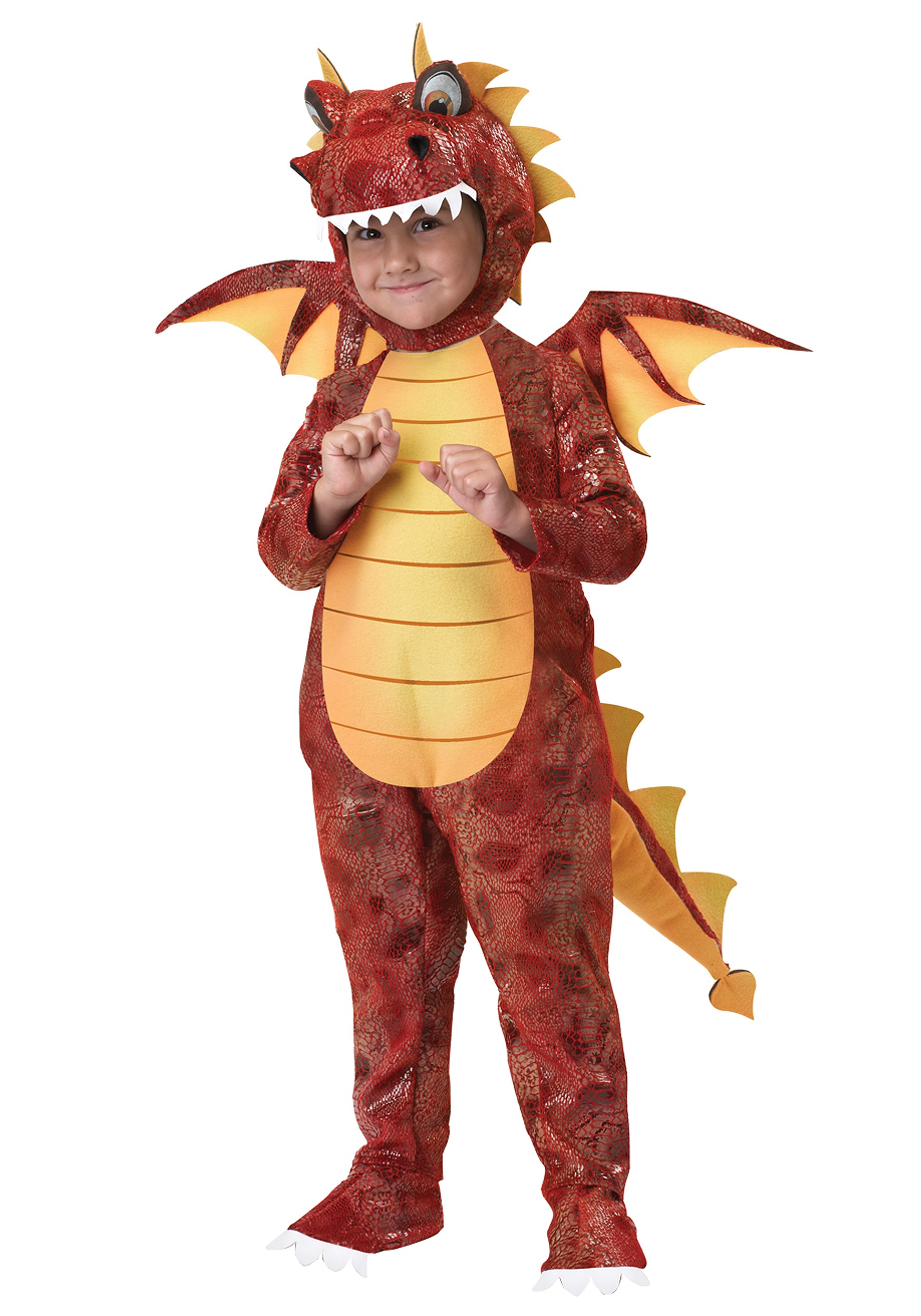 Toddler Fire Breathing Dragon Costume