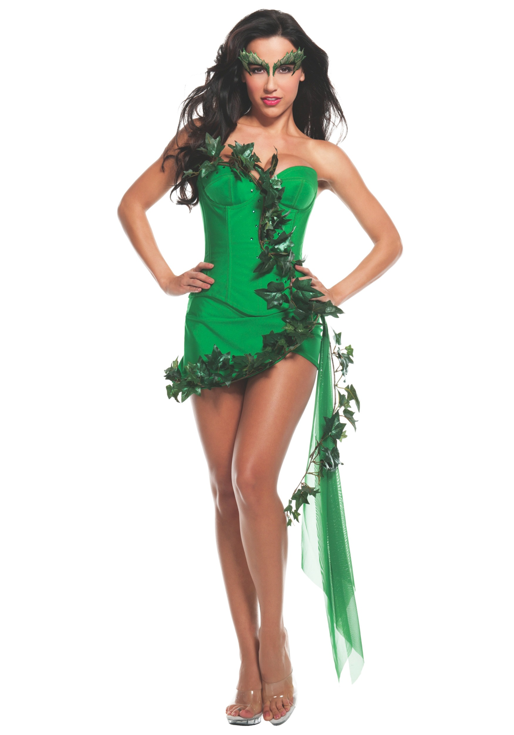 womens ivy girl costume - Green Halloween Dress
