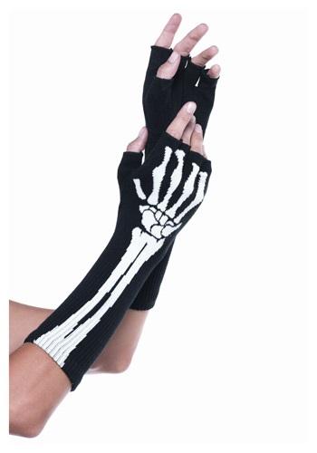 Skeleton Fingerless Gloves LE2144-ST