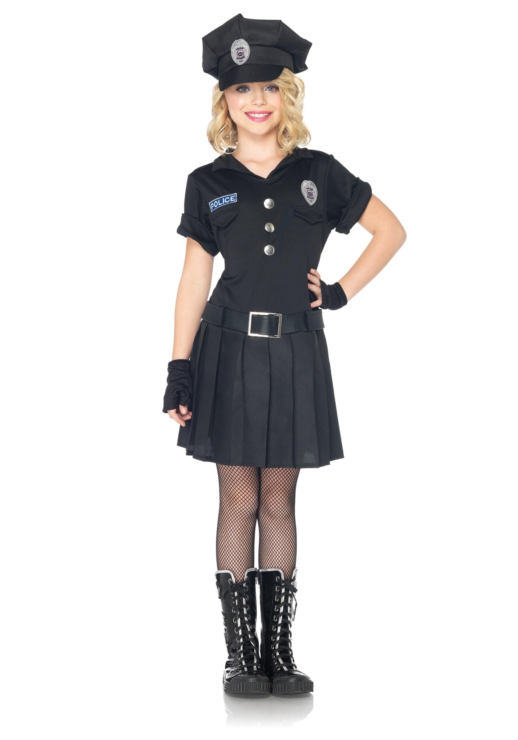Cop girl costume - Costume halloween fille ...