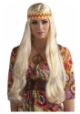 Blonde-Hippie-Chick-Wig-w-Headband
