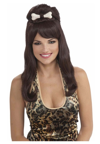 Prehistoric Brown Princess Wig By: Forum Novelties, Inc for the 2015 Costume season.