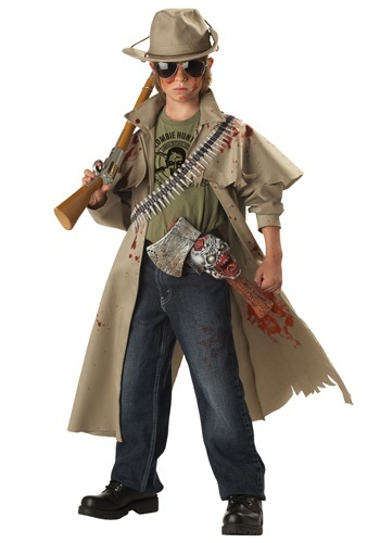 Image Child Zombie Hunter Costume