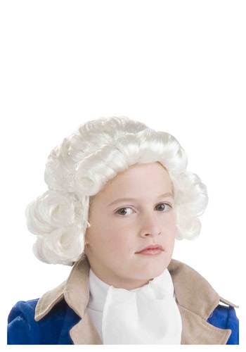 Colonial Wig for Boys