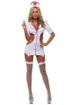 Womens Cut Out Nurse Costume