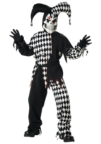 Kids Dark Jester Costume By: California Costume Collection for the 2015 Costume season.