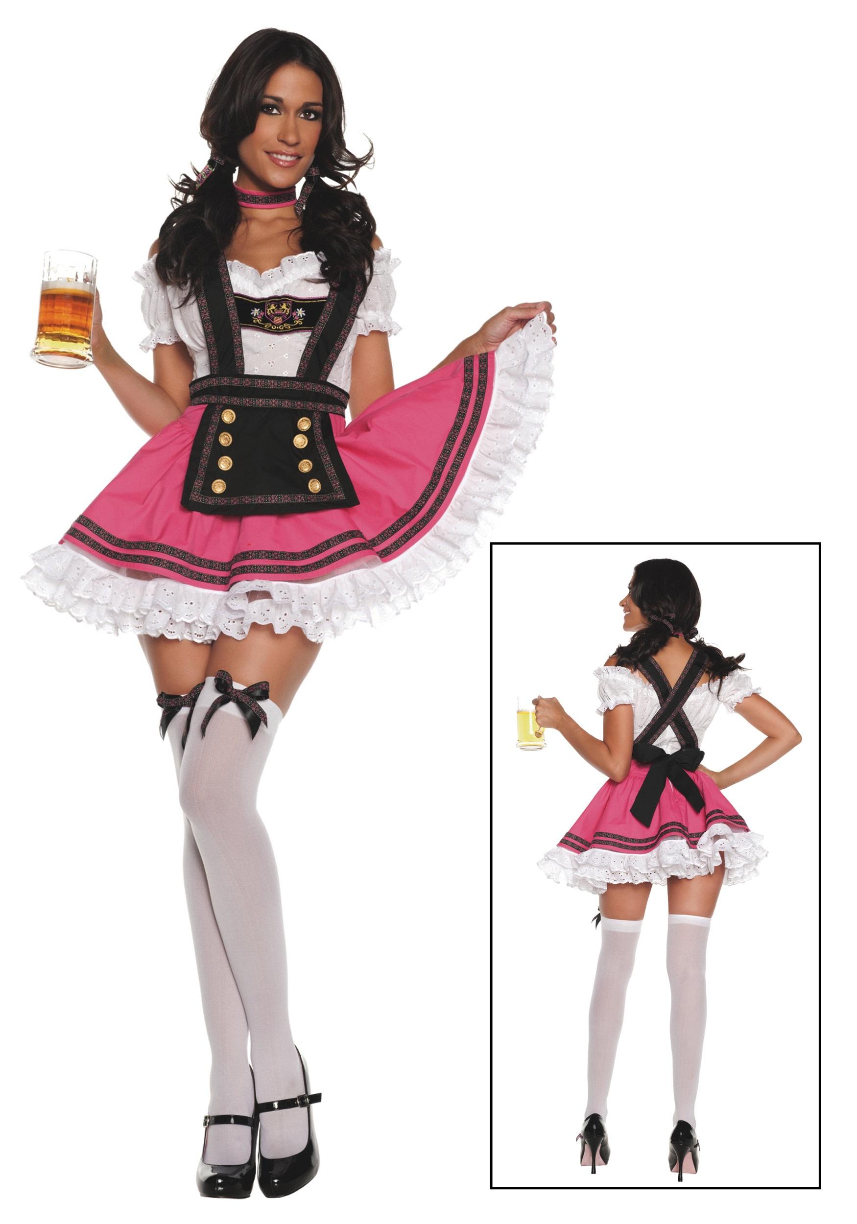 Women's Fancy Beer Girl Costume