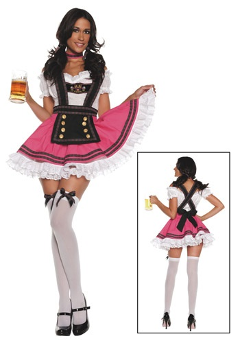 WOMEN'S FANCY BEER GIRL COSTUME - Edgy Halloween Costumes - Badass Beer Cosplay