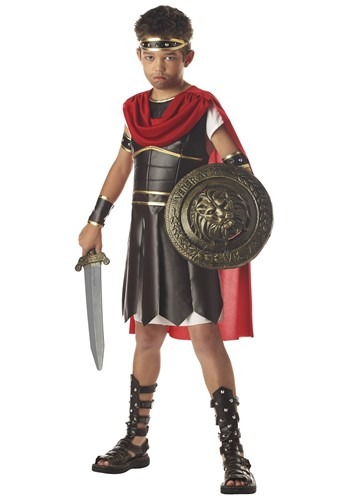 Click Here to buy Kids Hercules Costume - Kids Roman Warrior Costumes from HalloweenCostumes, USA Funds & Shipping