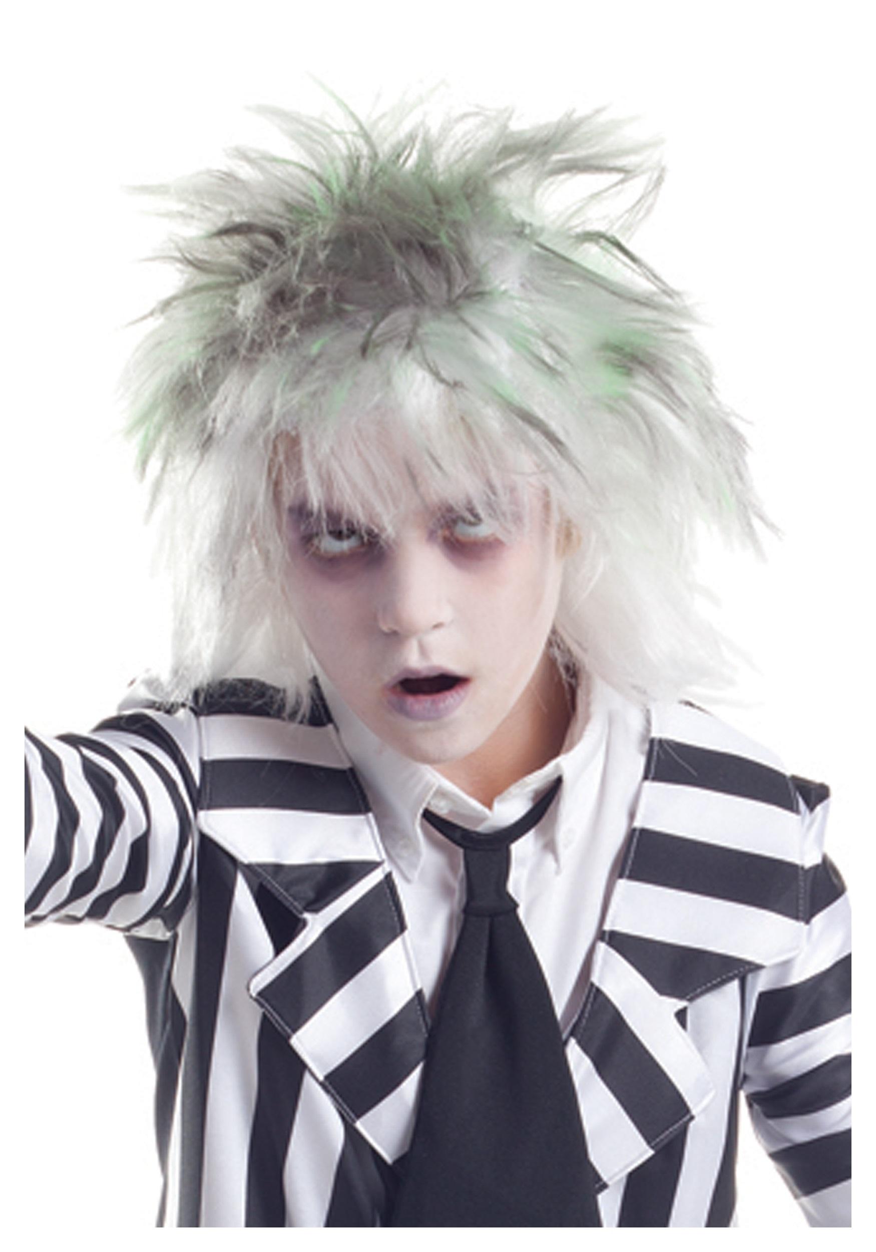 Scary halloween door decorations - Kids Graveyard Ghost Wig