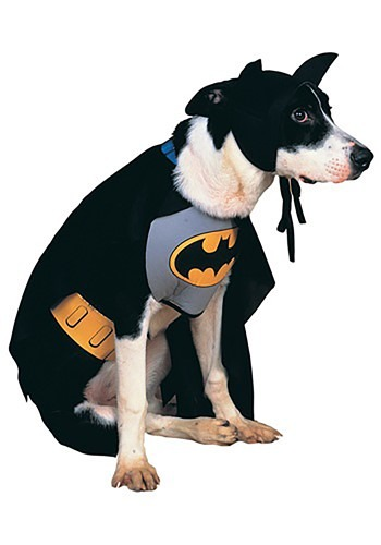 Classic Batman Pet Costume By: Rubies Costume Co. Inc for the 2015 Costume season.