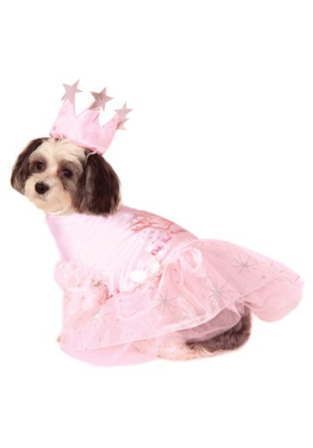 Click Here to buy Glinda Pet Costume from HalloweenCostumes, USA Funds & Shipping