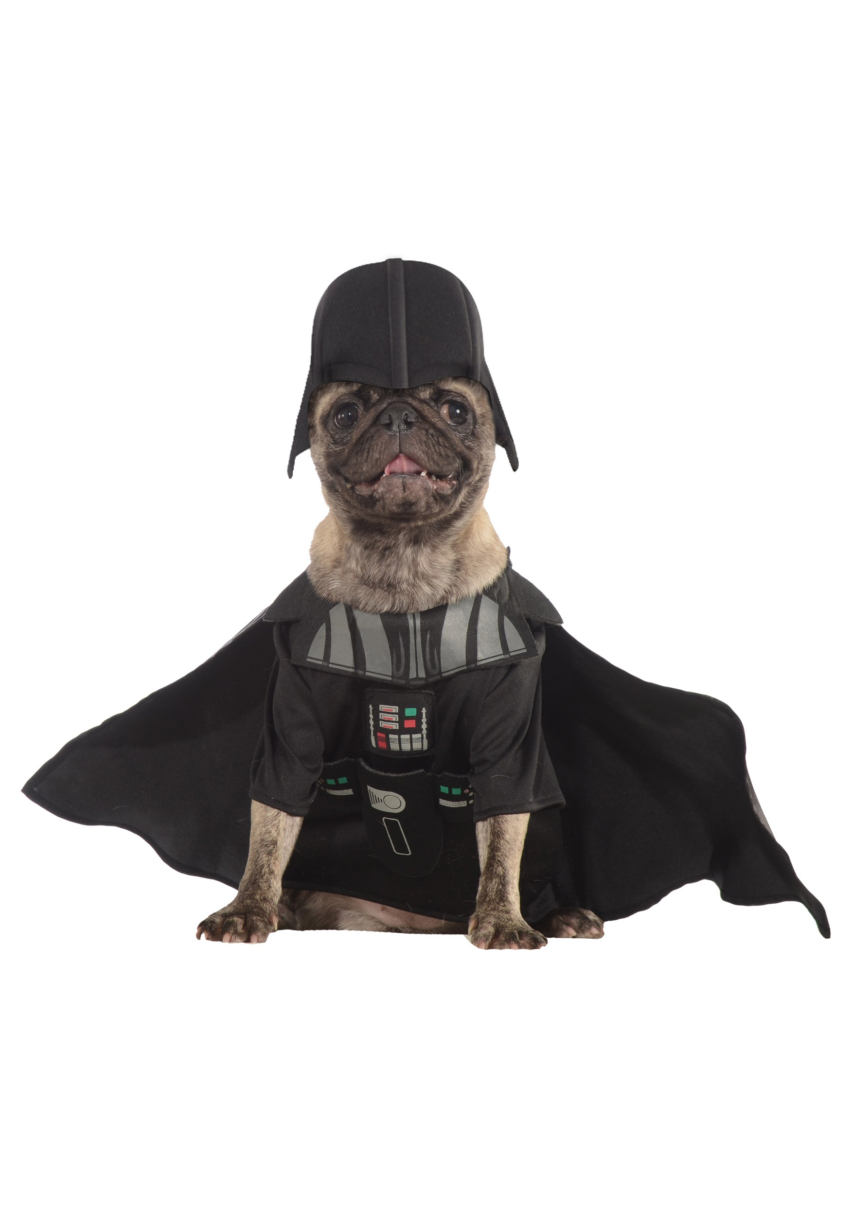 Darth Vader Pet Costume  sc 1 st  Halloween Costumes & Pet Star Wars Costumes - Dog Cat Halloween Costume Animal