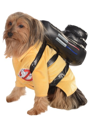 Click Here to buy Ghostbusters Jumpsuit Pet Costume from HalloweenCostumes, CDN Funds
