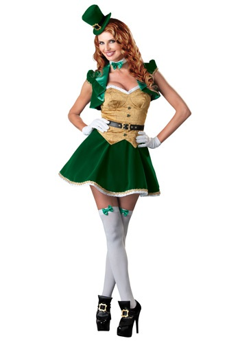 Lucky Lass Costume By: In Character for the 2015 Costume season.