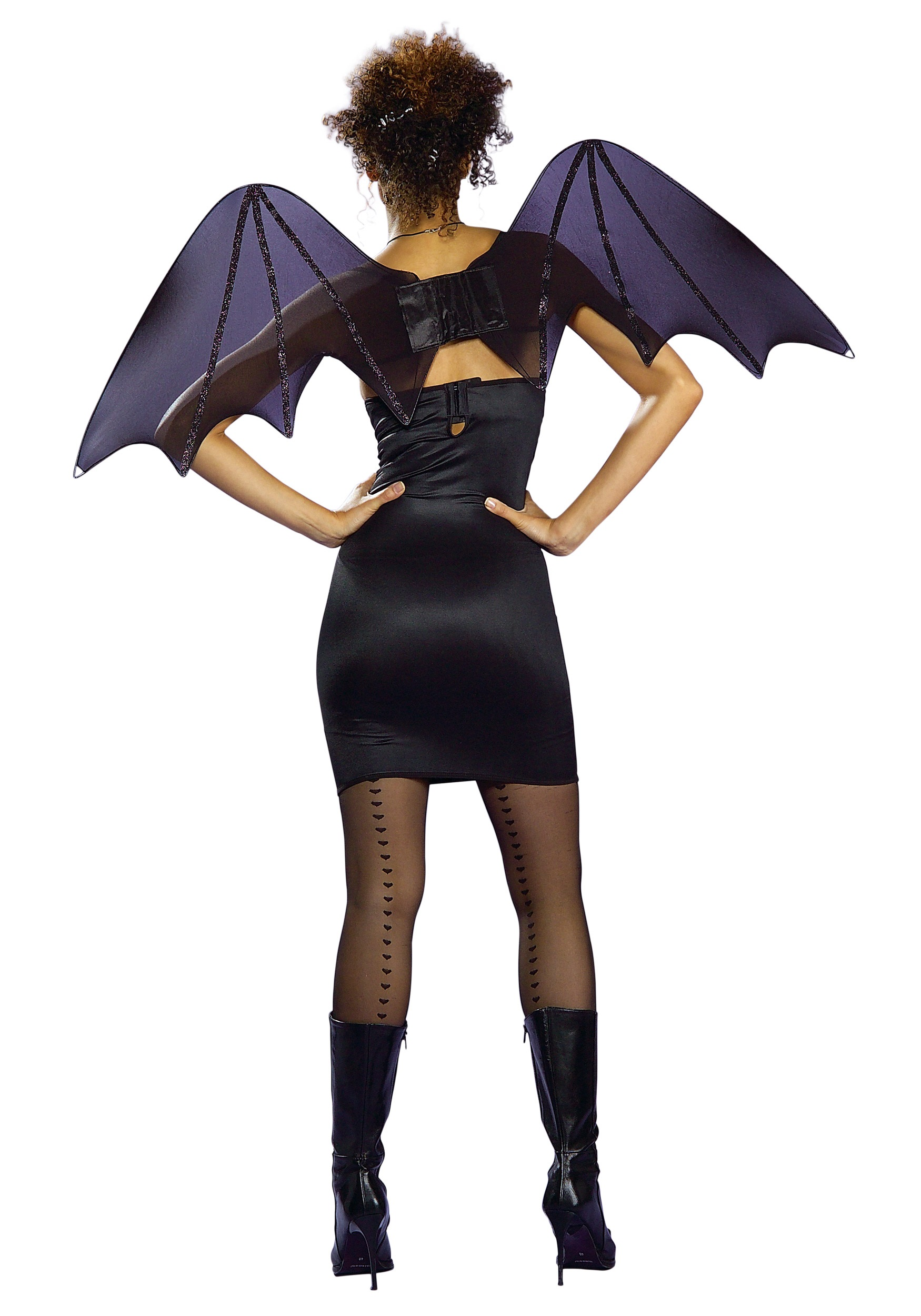 chiffon bat wings