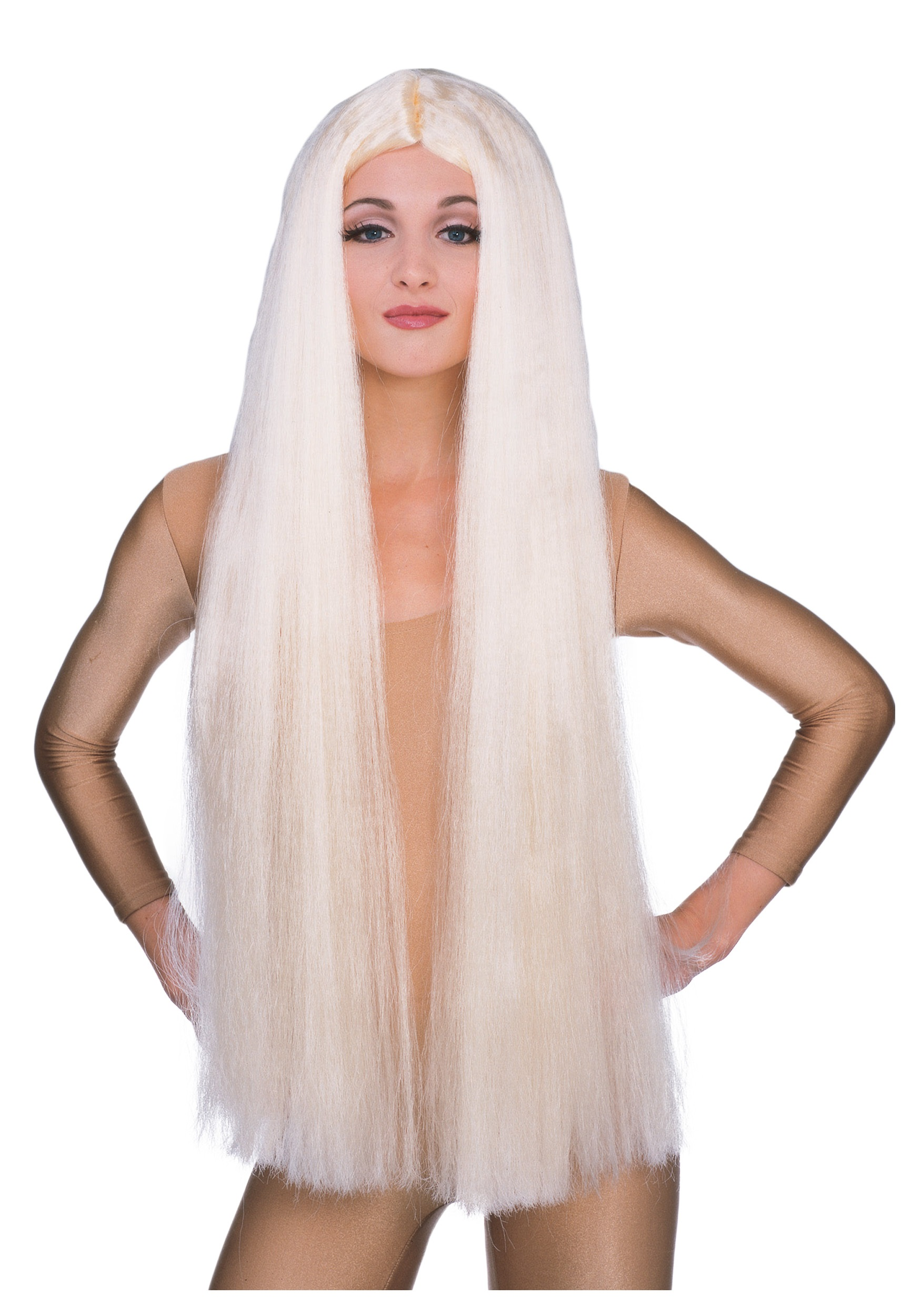 36in long blonde witch wig - Halloween Costumes With Blonde Wig