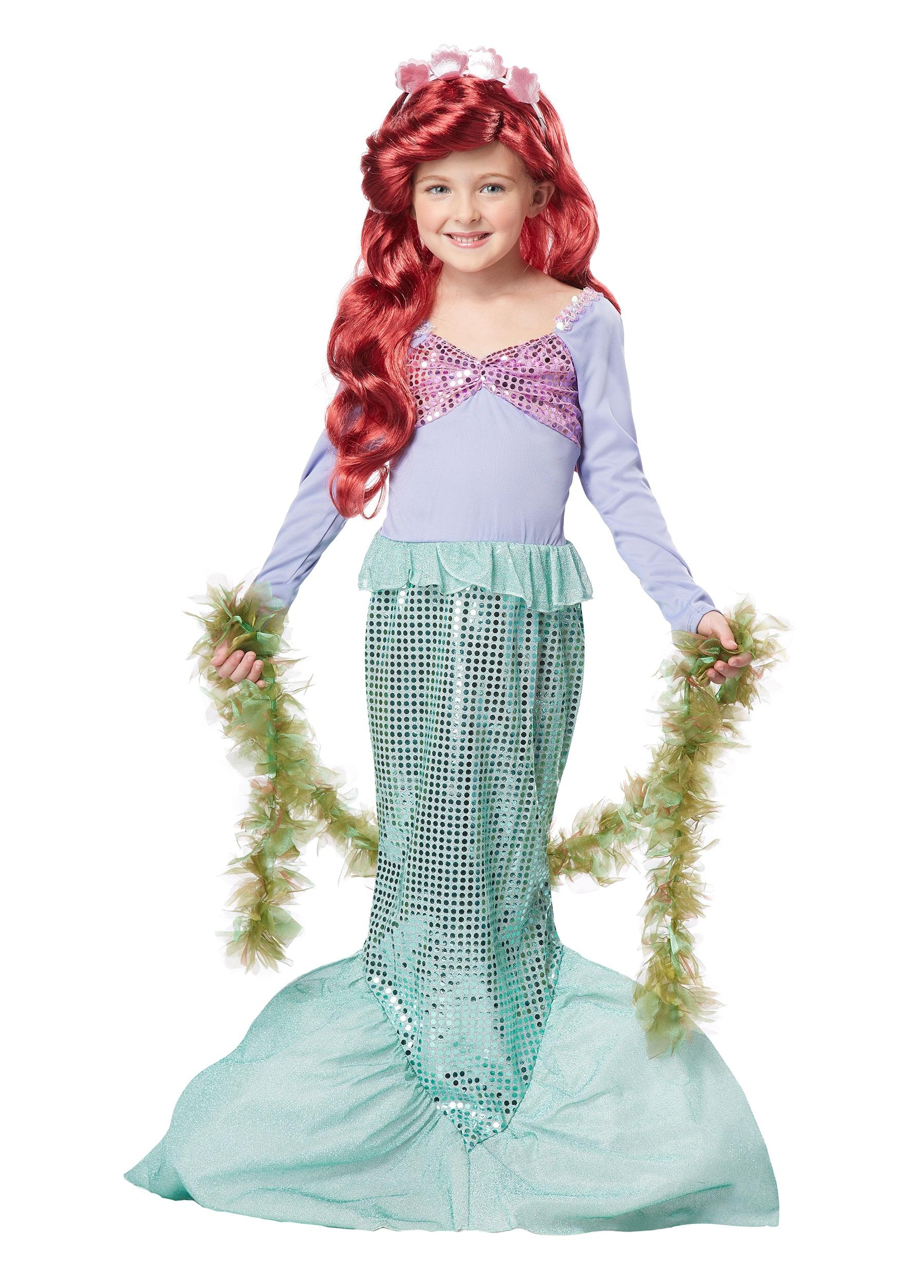 child mermaid costume. Black Bedroom Furniture Sets. Home Design Ideas