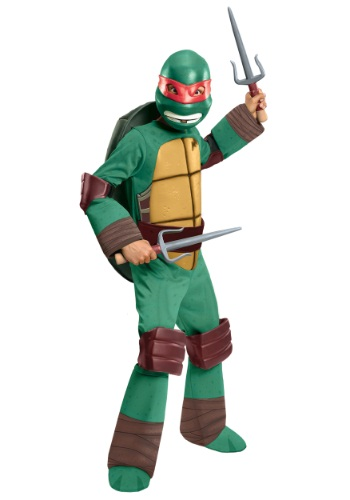 Click Here to buy Deluxe Kids Raphael Costume from HalloweenCostumes, USA Funds & Shipping
