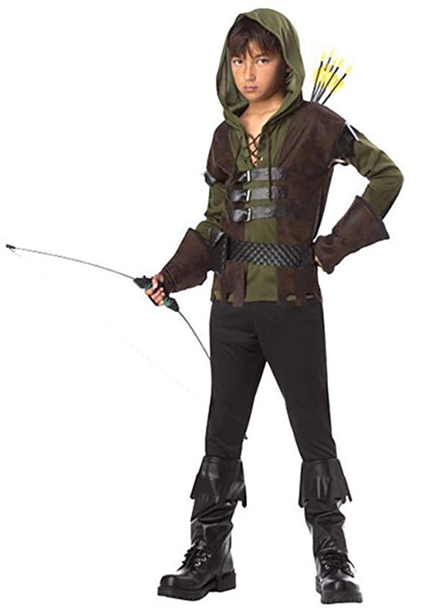 sc 1 st  Halloween Costumes & Kids Robin Hood Costume