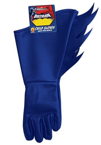 Click Here to buy Batman Kids Gloves from HalloweenCostumes, USA Funds & Shipping