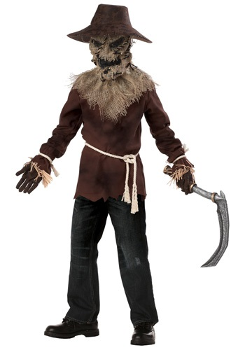 Click Here to buy Boys Wicked Scarecrow Costume from HalloweenCostumes, CDN Funds