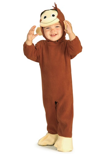 [Infant Curious George Costume] (Costumes Curious George)