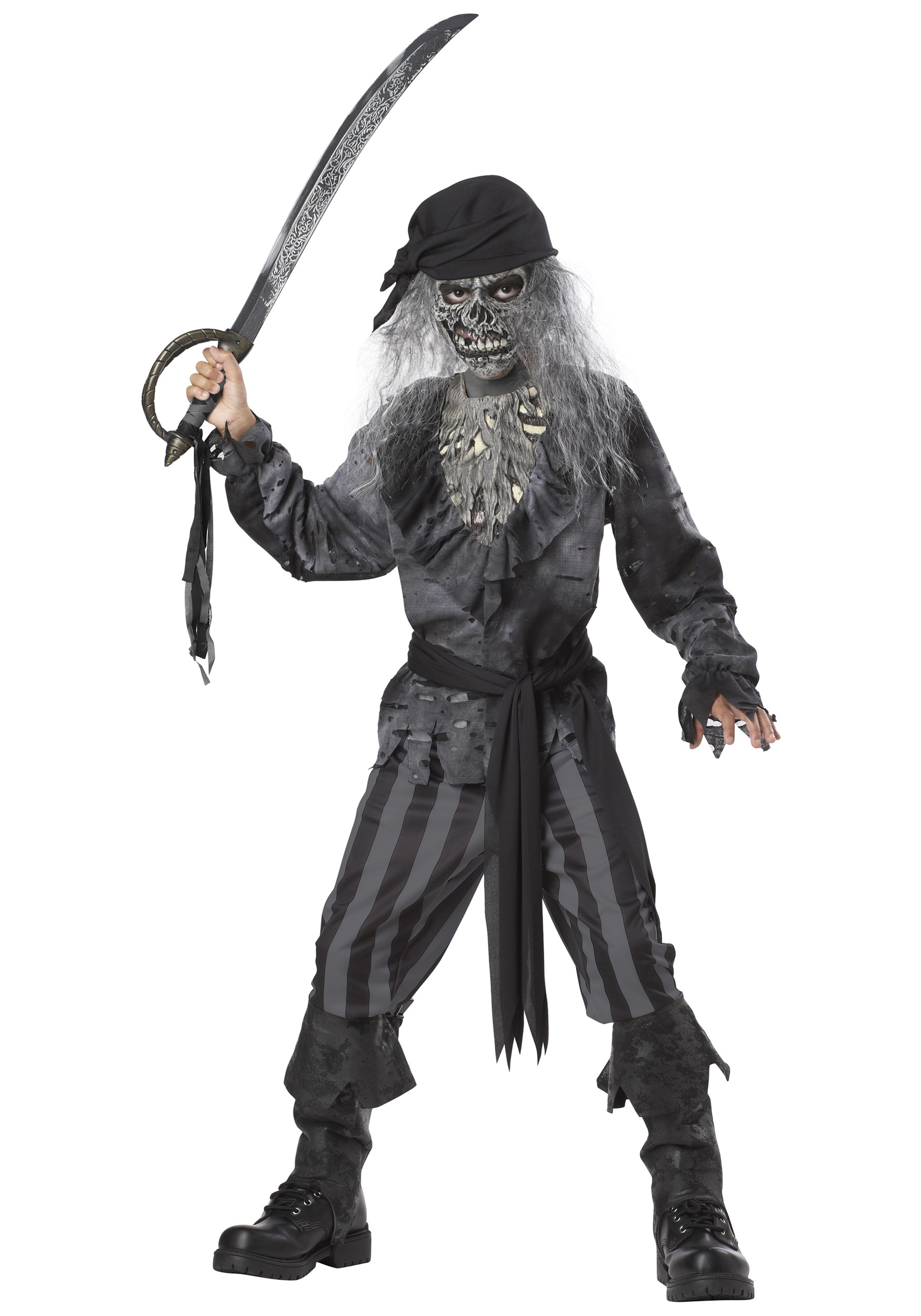 Halloween Pirate Makeup Beautysoulmates Channel: Kids Ghost Ship Pirate Costume