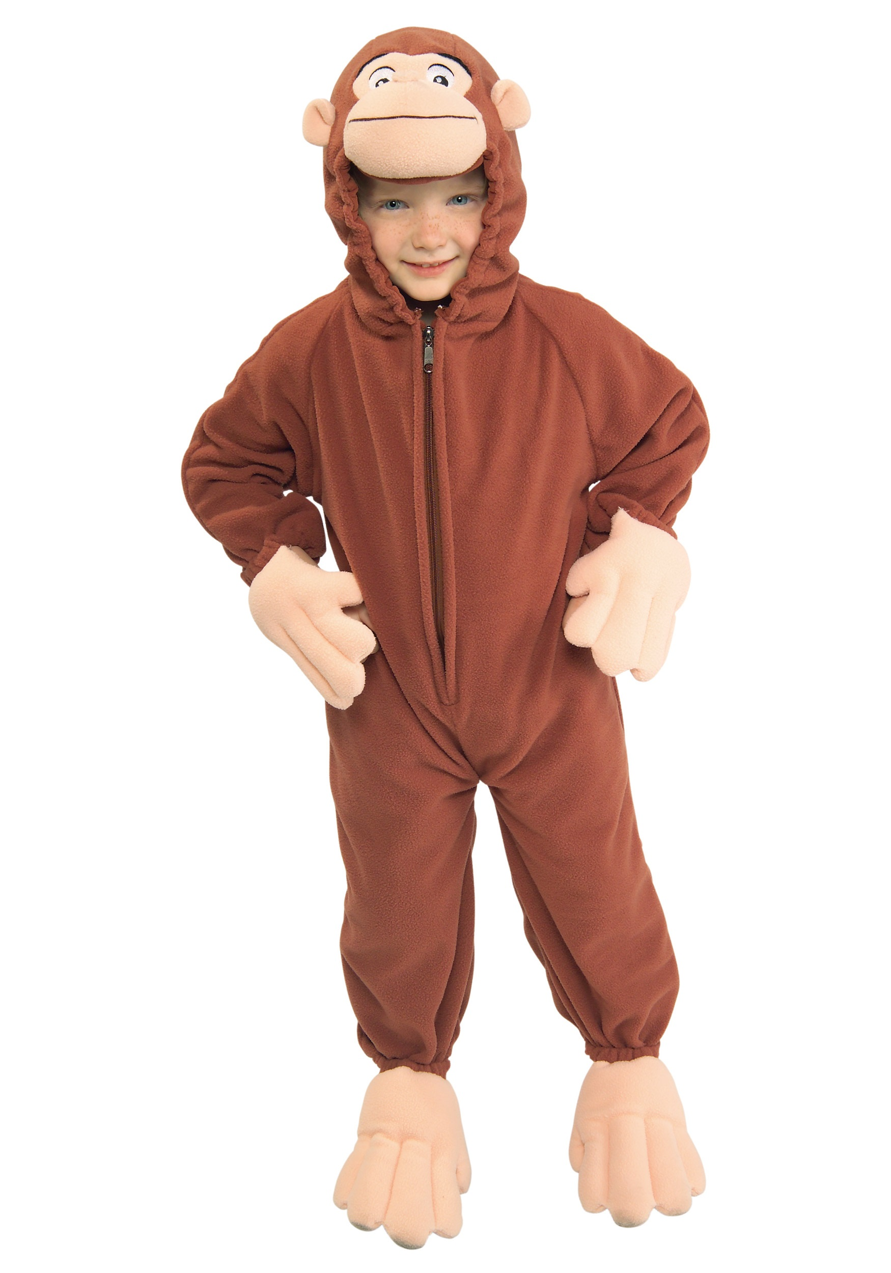 Toddler Curious George Costume RU885500