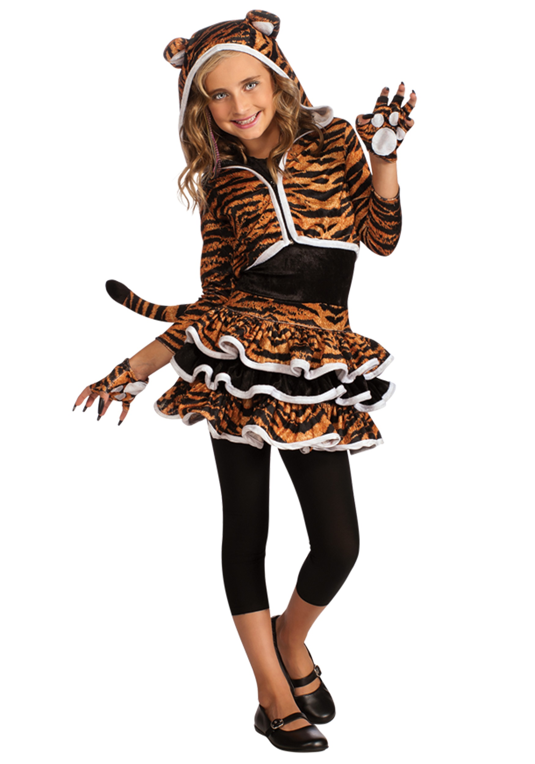 child tigress hoodie - Tiger For Halloween