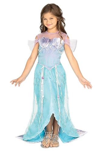 Click Here to buy Kids Mermaid Princess Costume from HalloweenCostumes, USA Funds & Shipping