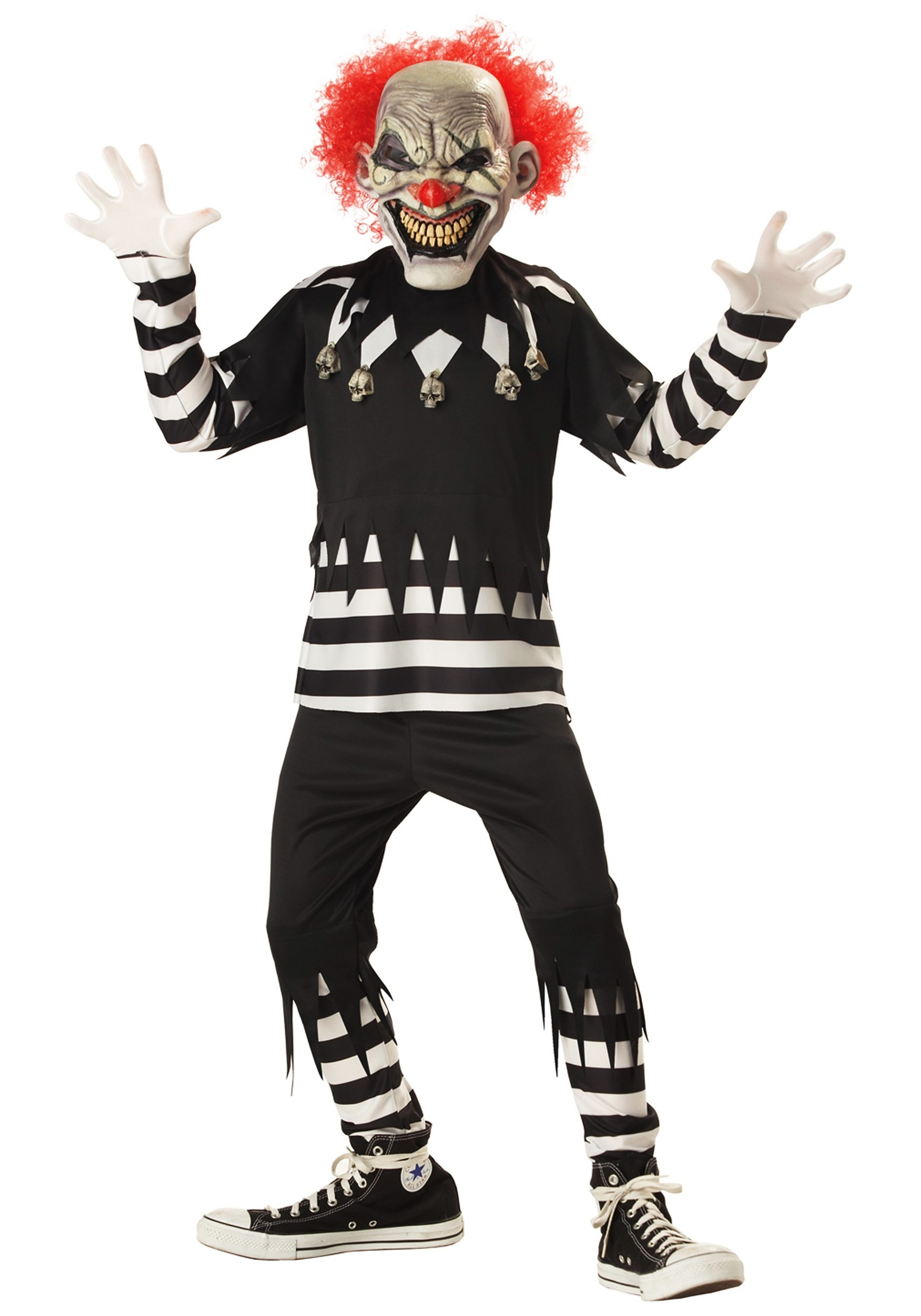 sc 1 st  Halloween Costumes & Kids Psycho Clown Costume