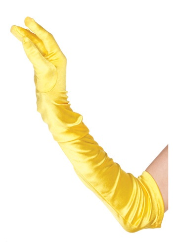 Yellow Gloves By: Leg Avenue for the 2015 Costume season.