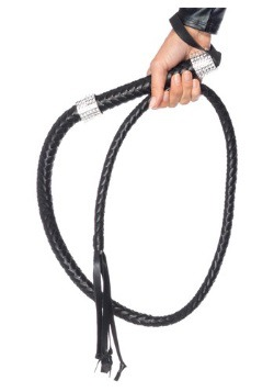 Faux Leather Whip