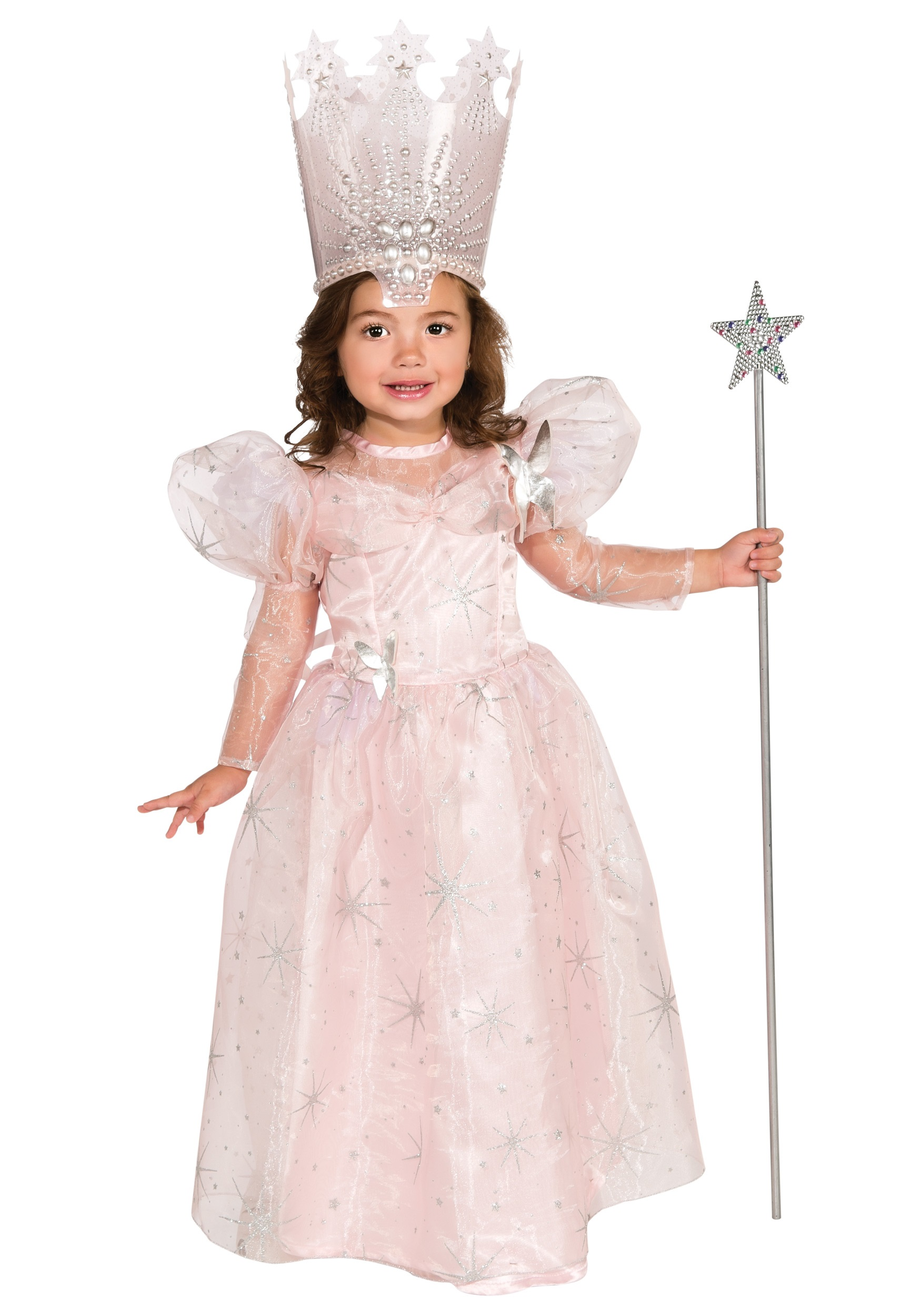 sc 1 st  Halloween Costumes & Toddler Glinda the Good Witch Costume