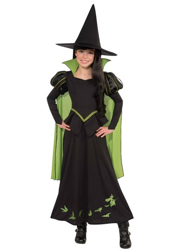 Click Here to buy Kids Wicked Witch of the West Costume from HalloweenCostumes, USA Funds & Shipping