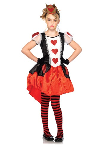 Child Wonderland Queen Costume