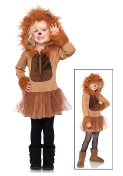 Child Cuddly Lion Costume