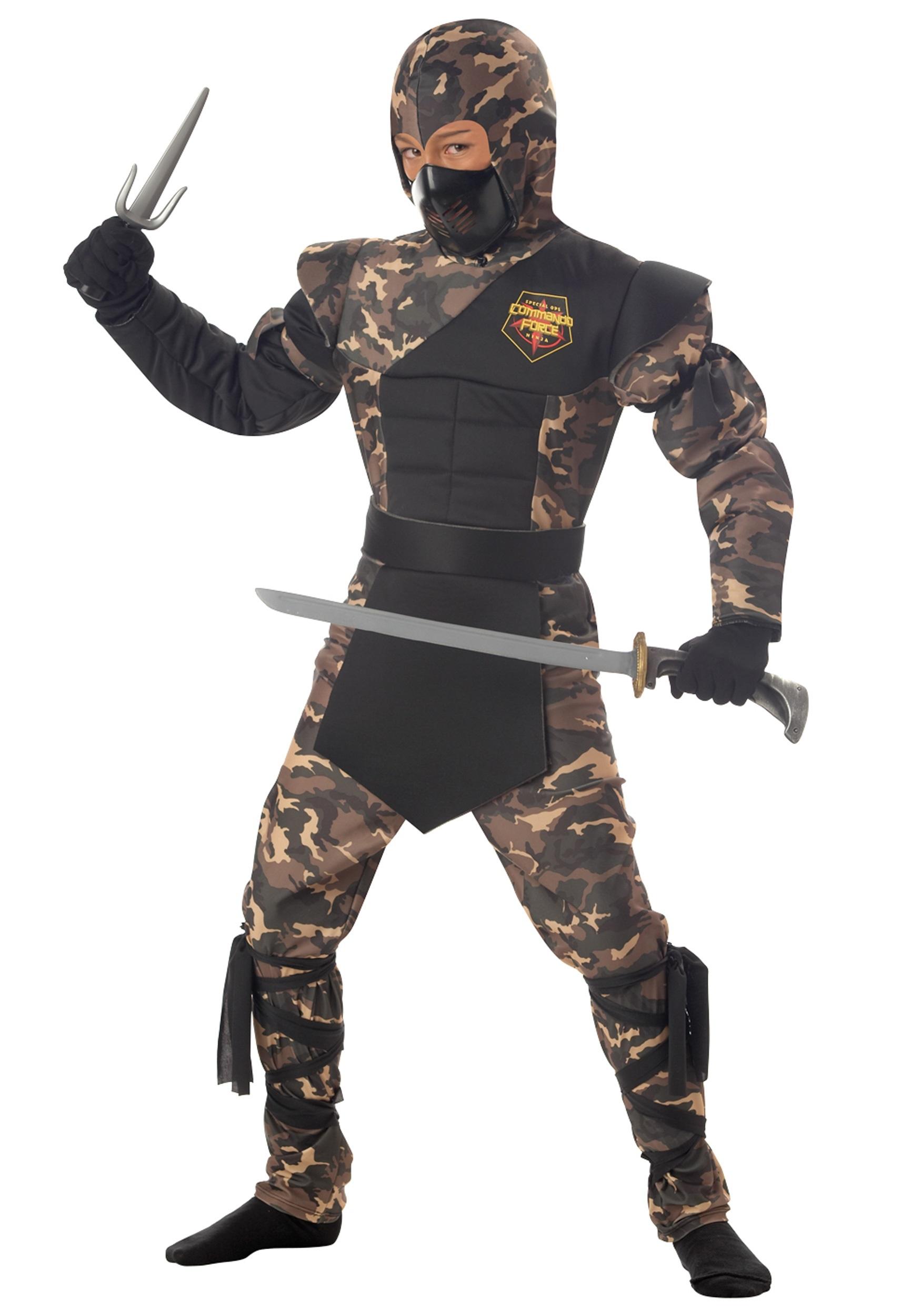 Kids Special Ops Ninja Costume - Special Halloween Costumes
