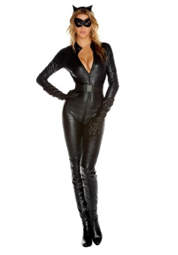 Womens Cat Burglar Halloween Costumes