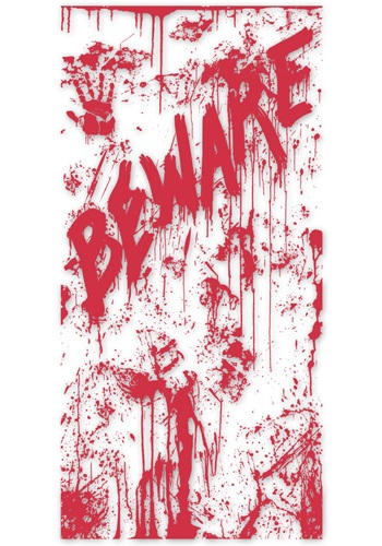 Bloody Door Cover By: Beistle for the 2015 Costume season.