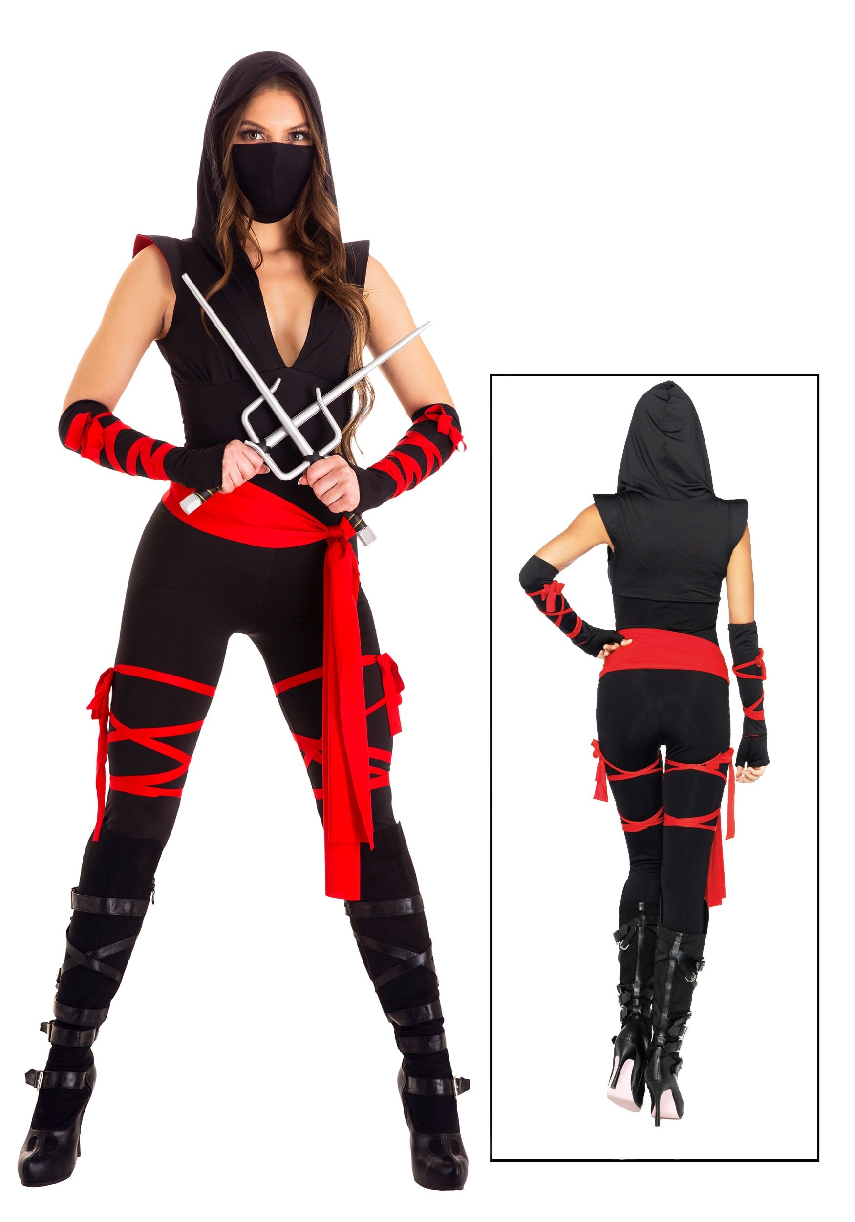 . Sexy Deadly Ninja Costume